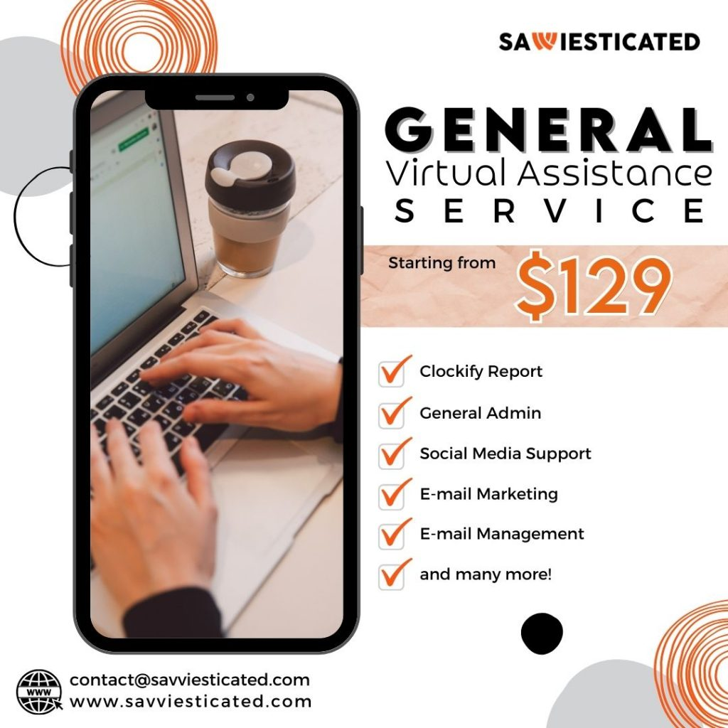 General Virtual Assistants Package - Savviesticated